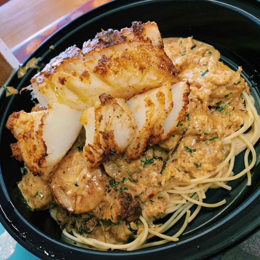 Jerk Seafood Pasta